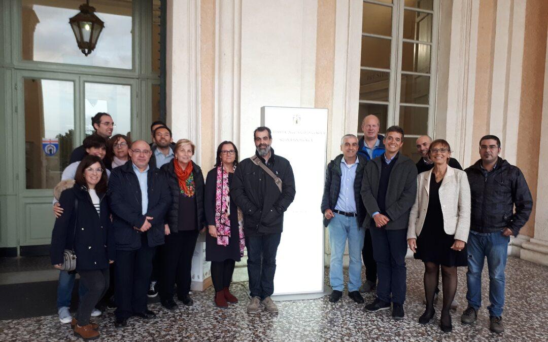 5º Encuentro y Reunión de Seguimiento del proyecto. Génova, Italia. 4 Noviembre 2019.