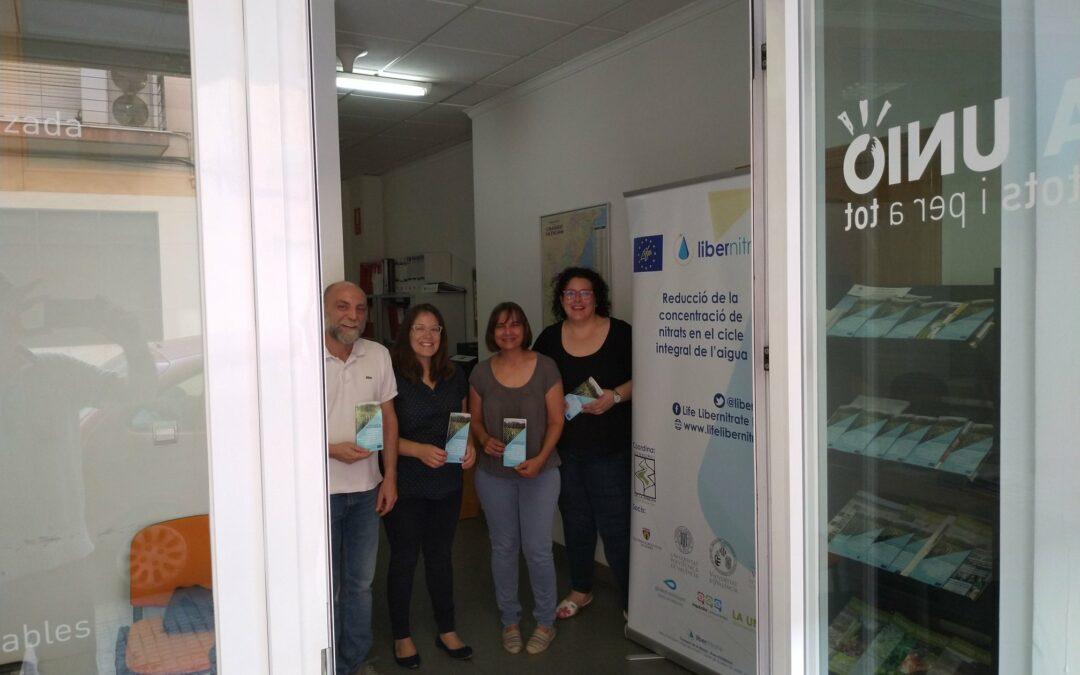 Apertura de dos nuevos puntos de información sobre el proyecto en Elche y Carlet