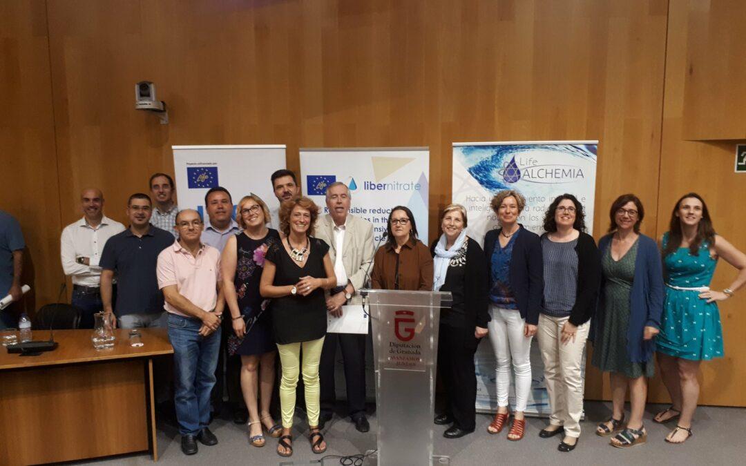 Presentación Proyecto LIFE Libernitrate en la Jornada Técnica Networking en Granada