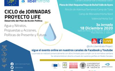 LIFE-Libernitrate viert de 3e Politieke Actieplan-ontwikkelingsdag