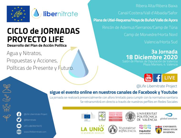 LIFE Libernitrate celebra la 3a Jornada del Desarrollo del Plan de Acción Política